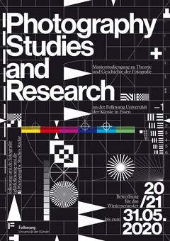 Photography Studies and Research Plakat 2020