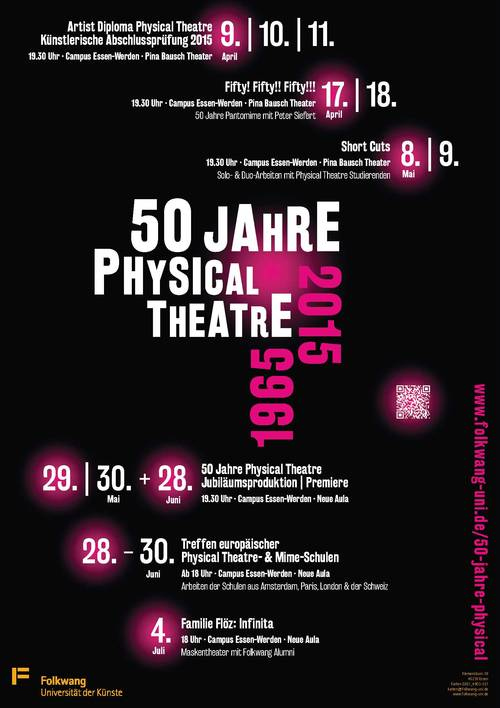 50 Jahre Folkwang Physical Theatre