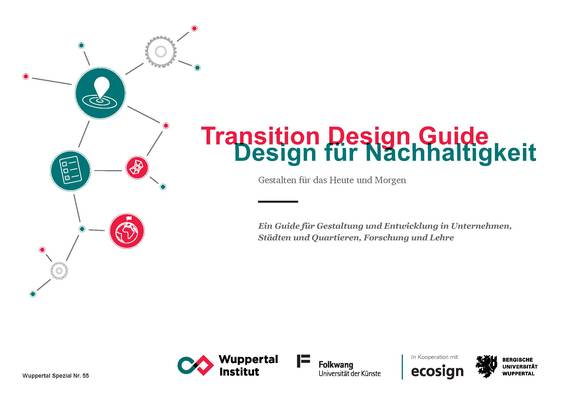 Cover des Transition Design Guides