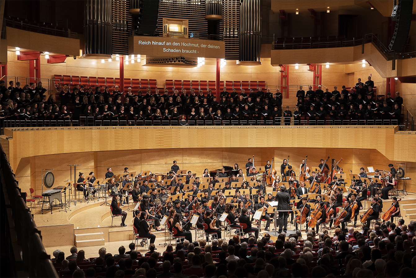 Konzert WAR REQUIEM in der Philharmonie Essen | Foto: Joshua Eckstein